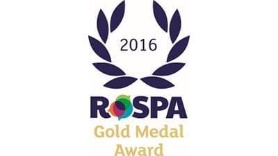 7th ROSPA Gold Medal