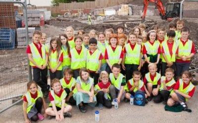 Ysgol Gwernant visit