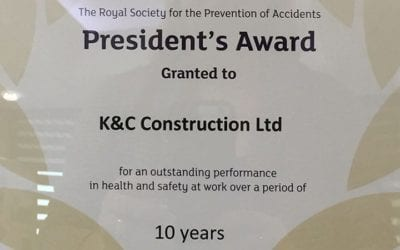 Health and Safety Royal Seal of Approval Awarded